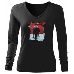 Depeche Mode - T-Shirt Langarm - Frauen (Foto)