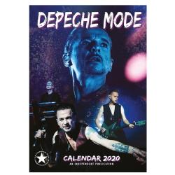 Depeche Mode - Calendario de pared 2020
