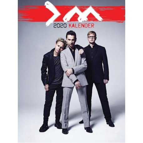 Depeche Mode - Wall Calendar 2020 (2)