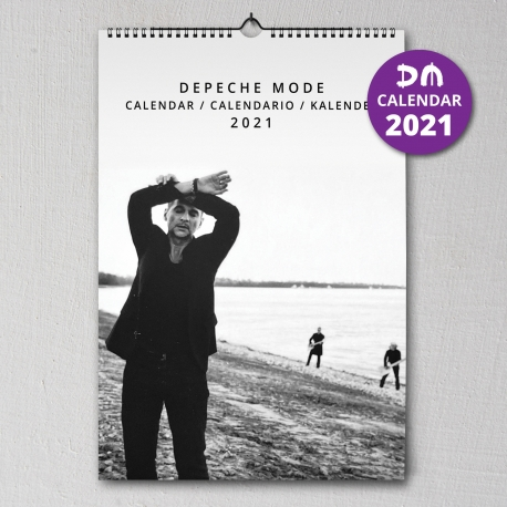 Depeche Mode - Calendario de pared 2021