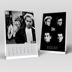 Depeche Mode - Calendario da scrivania 2021 (A5)