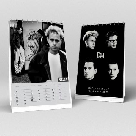 Depeche Mode - Tischkalender 2021 (A5)