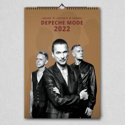 Depeche Mode - Wandkalender 2022