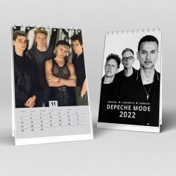Depeche Mode - Desk Calendar 2022