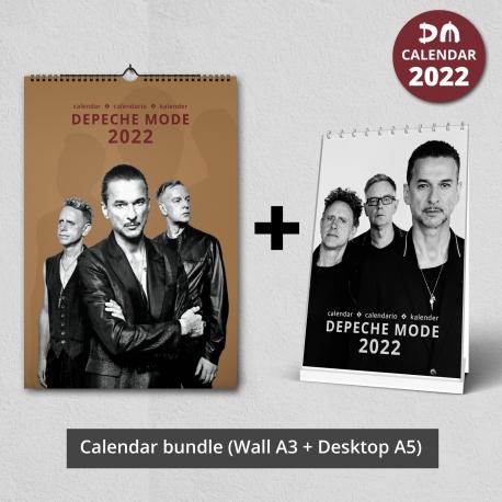Paquete Depeche Mode Calendar 2022 (pared + escritorio)