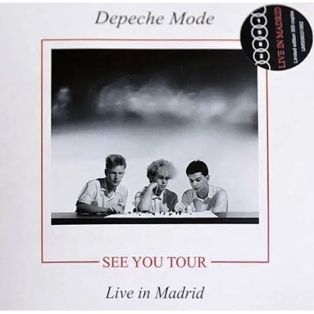 Depeche Mode - See You Tour : Live in Madrid - CD