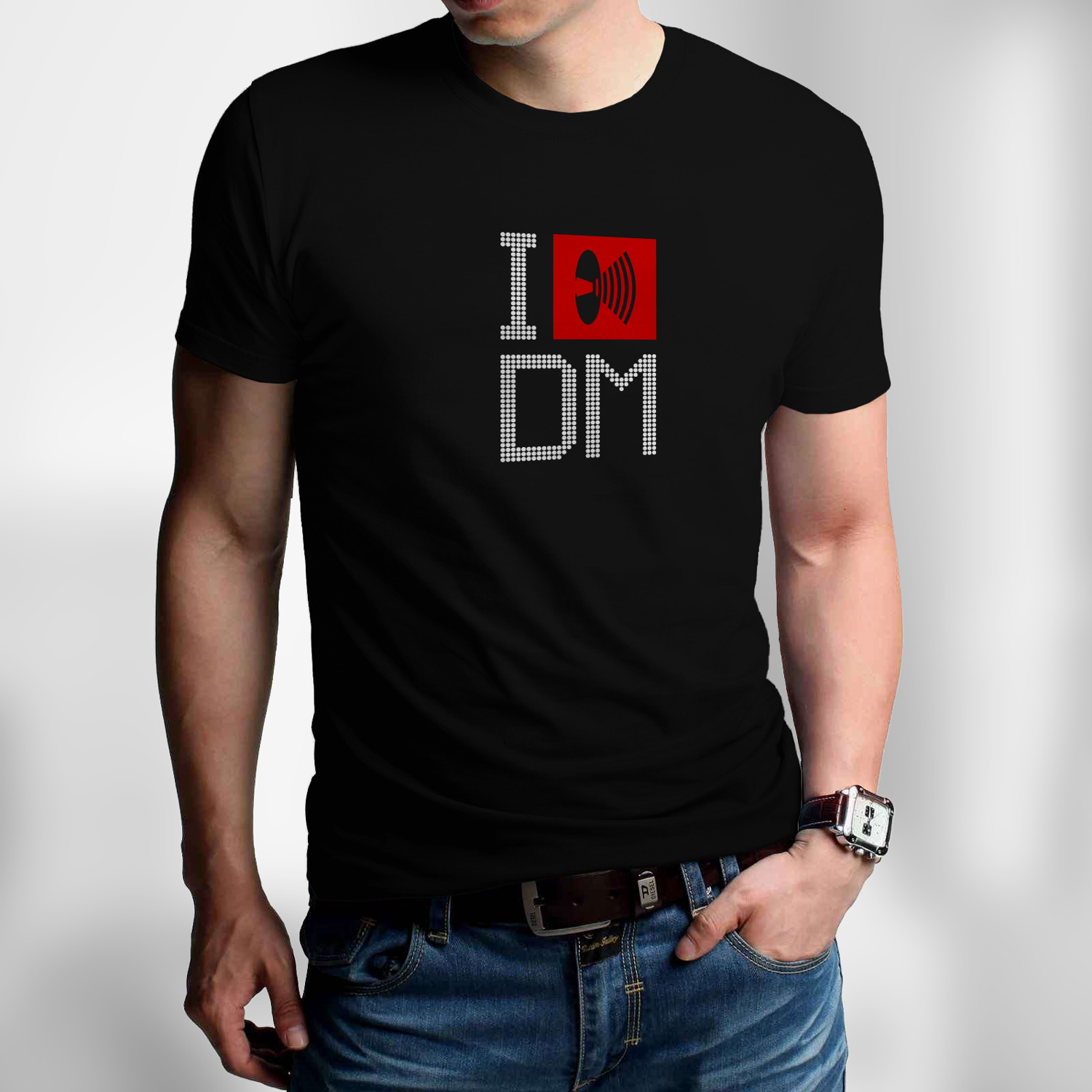 Men's T-shirt Depeche Mode - I LOVE DM