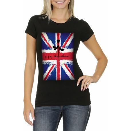 woman 39 s t shirt depeche mode enjoy the silence dm universe. Black Bedroom Furniture Sets. Home Design Ideas