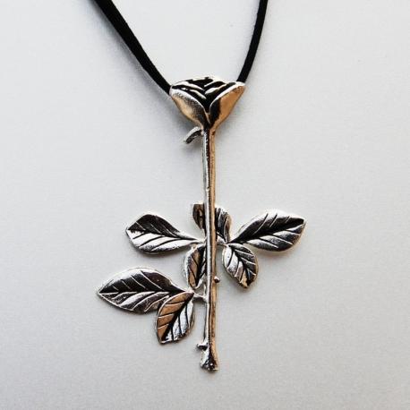 Depeche Mode - Pendant - Violator Rose (Silver)