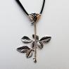 Depeche Mode - Anhänger - Violator Rose (Silber)