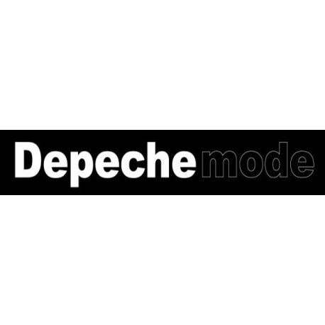 Depeche Mode - Banners - Inscription in Ultra style