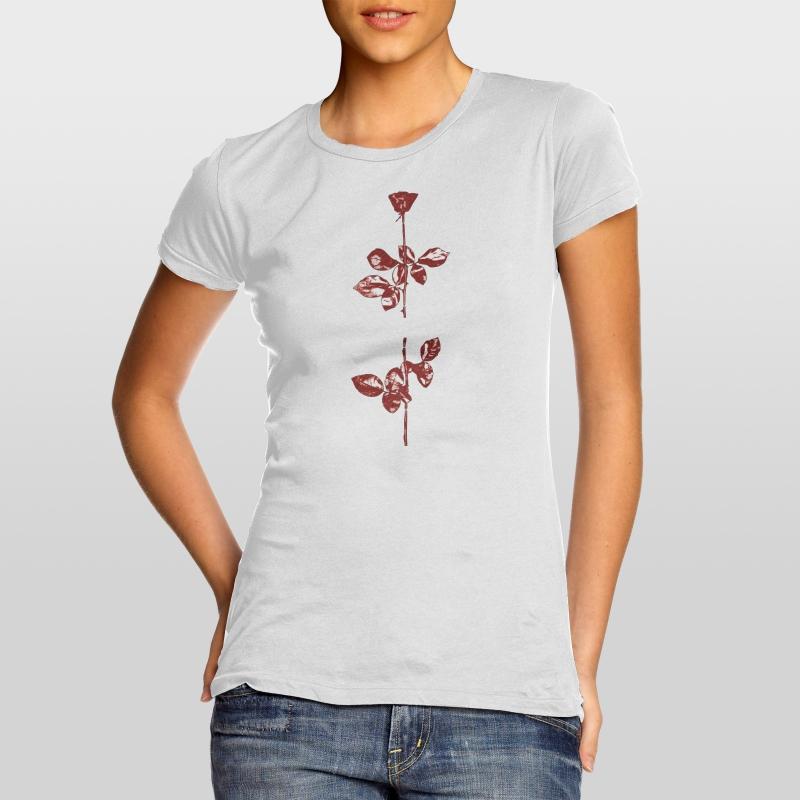 depeche mode women 39 s t shirt violator 7 dm universe. Black Bedroom Furniture Sets. Home Design Ideas
