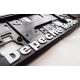 Depeche Mode vehicle registration plate holder