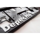 Depeche Mode - vehicle registration plate holder Violator