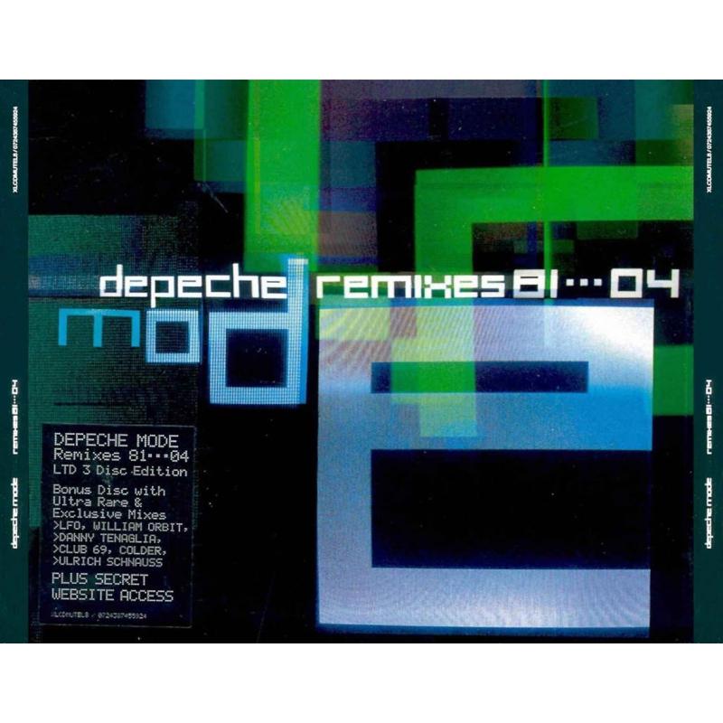 Depeche Mode Remixes 81 04 3cd Depeche Mode Universe