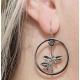 Depeche Mode -  Women earrings  Rose