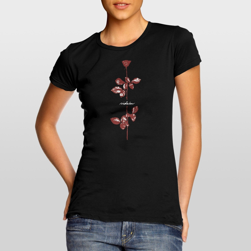 depeche mode women 39 s t shirt violator 6 dm universe