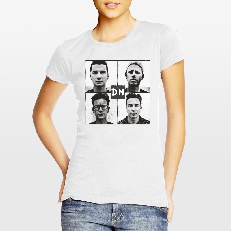 depeche mode women 39 s t shirt photo w dm universe. Black Bedroom Furniture Sets. Home Design Ideas