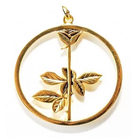 Depeche Mode - Colgante - Rose (Oro)