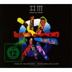 Depeche Mode - Tour of the Universe: Barcelona [1DVD+2CD]