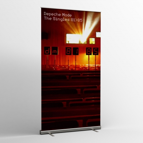 Depeche Mode - Banner - The Singles 81-85