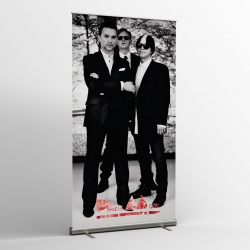 Depeche Mode - Textile Banner (Flag) - Photo Delta Machine