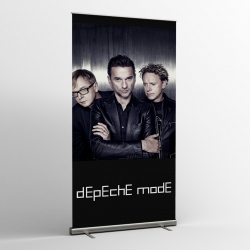 Depeche Mode - Textile Banner (Flag) - Photo Remixes
