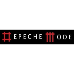 Depeche Mode - striscioni tessili (Bandiera) - Inscription in Music For The Masses style