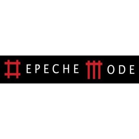 Depeche Mode - striscioni tessili (Bandiera) - Inscription in Music For The Masses style
