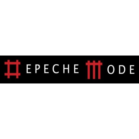 Depeche Mode - Textile Banner (Flag) - Inscription in Music For The Masses style