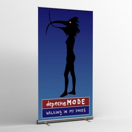 Depeche Mode - striscioni tessili (Bandiera) - Walking In My Shoes