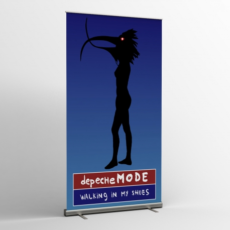 Depeche Mode -  Textile Banner (Flag) - Walking In My Shoes