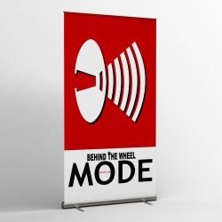Depeche Mode - Textile Banner (Flag) - Behind The Wheel