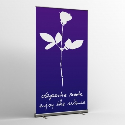 Depeche Mode - Textile Banner (Flag) - Enjoy The Silence