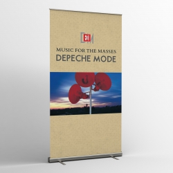 Depeche Mode - Textile Banner (Flag) - Music For The Masses