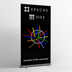 Depeche Mode - striscioni tessili (Bandiera) - Sounds of the Universe