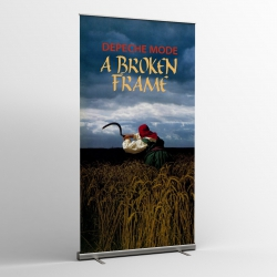Depeche Mode - Textile Banner (Flag) - A Broken Frame