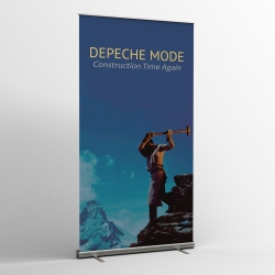 Depeche Mode - Textile Banner (Flag) - Construction Time Again