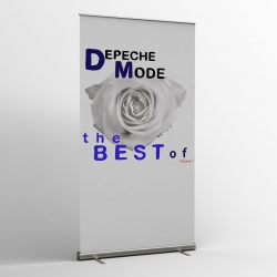 Depeche Mode - pancartas textiles (Bandera) - The Best Of Volume 1