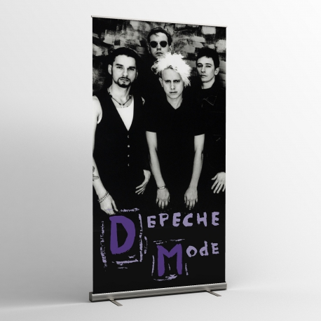 Depeche Mode - Textile Banner (Flag) - Photo (93)