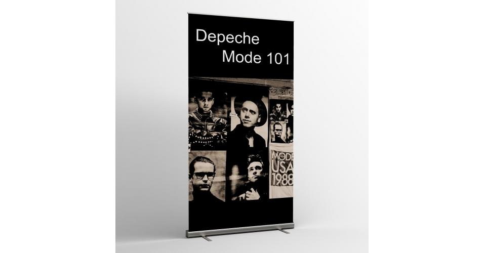 depeche mode textile banners flag 101 depeche mode universe. Black Bedroom Furniture Sets. Home Design Ideas