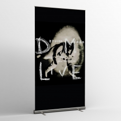 Depeche Mode - Textile Banner (Flag) - Songs Of Faith And Devotion / Live