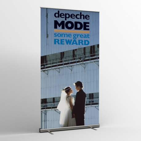 Depeche Mode - Textile Banner (Flag) - Some Great Reward (B)