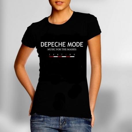 depeche mode women 39 s t shirt music for the masses dm. Black Bedroom Furniture Sets. Home Design Ideas