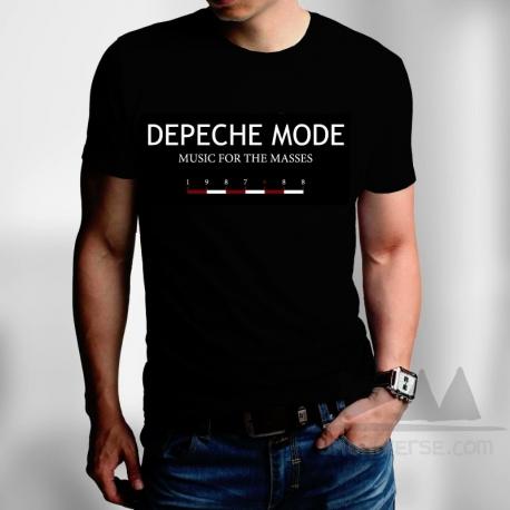 Depeche Mode - Camiseta de manga corta - Music For The Masses