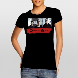 Depeche Mode - Women's T-Shirt – Spirit (Photo)