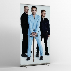 Depeche Mode - Textile Banners - Photo tour