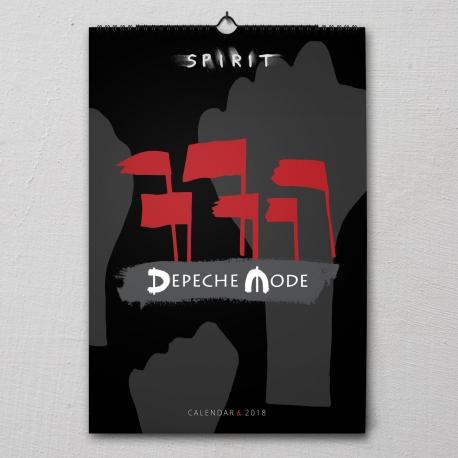 Depeche Mode - Wandkalender 2018