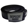 Depeche Mode – Cinturón de cuero (cosido de blanco)