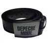 Depeche Mode - Ledergürtel (weiß genäht)